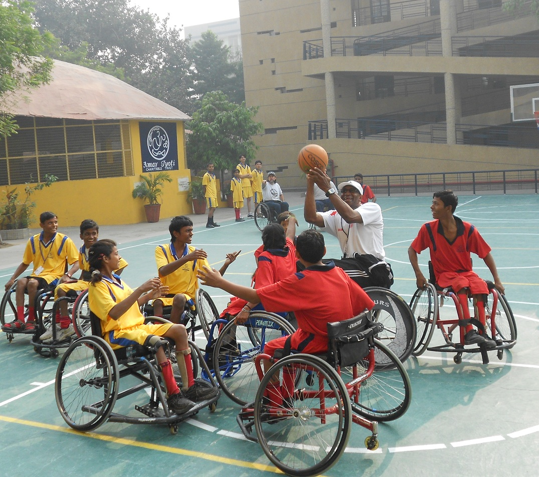 DISABLED PEOPLE IN SPORTS