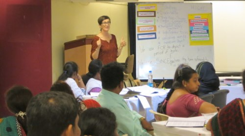 INNOVATIVE TECHNIQUES OF TEACHING ENGLISH  AS A SECOND LANGUAGE IN INDIA