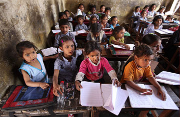 IS GIRL REALLY MISSING FROM SCHOOL  EDUCATION IN INDIA?