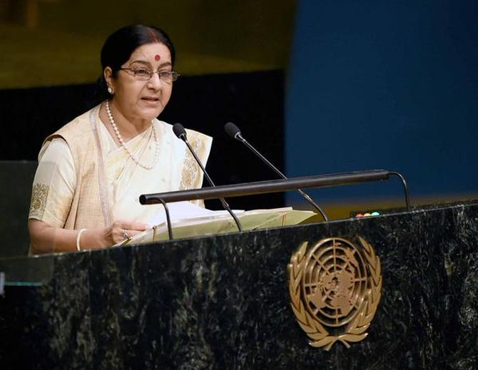 A STUDY ON INDO-PAK RELATIONS AFTER MINISTER  SUSHMA  SAWARJ POINT BLANK REFERENCE IN UN