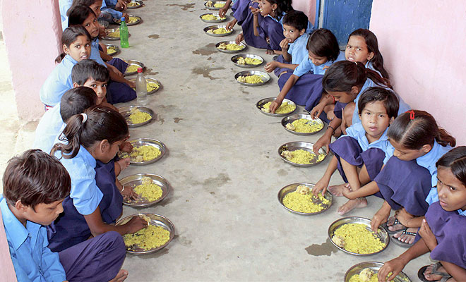 BACKGROUND AND ACHIEVEMENTS OF MID DAY MEAL SCHEME IN INDIA