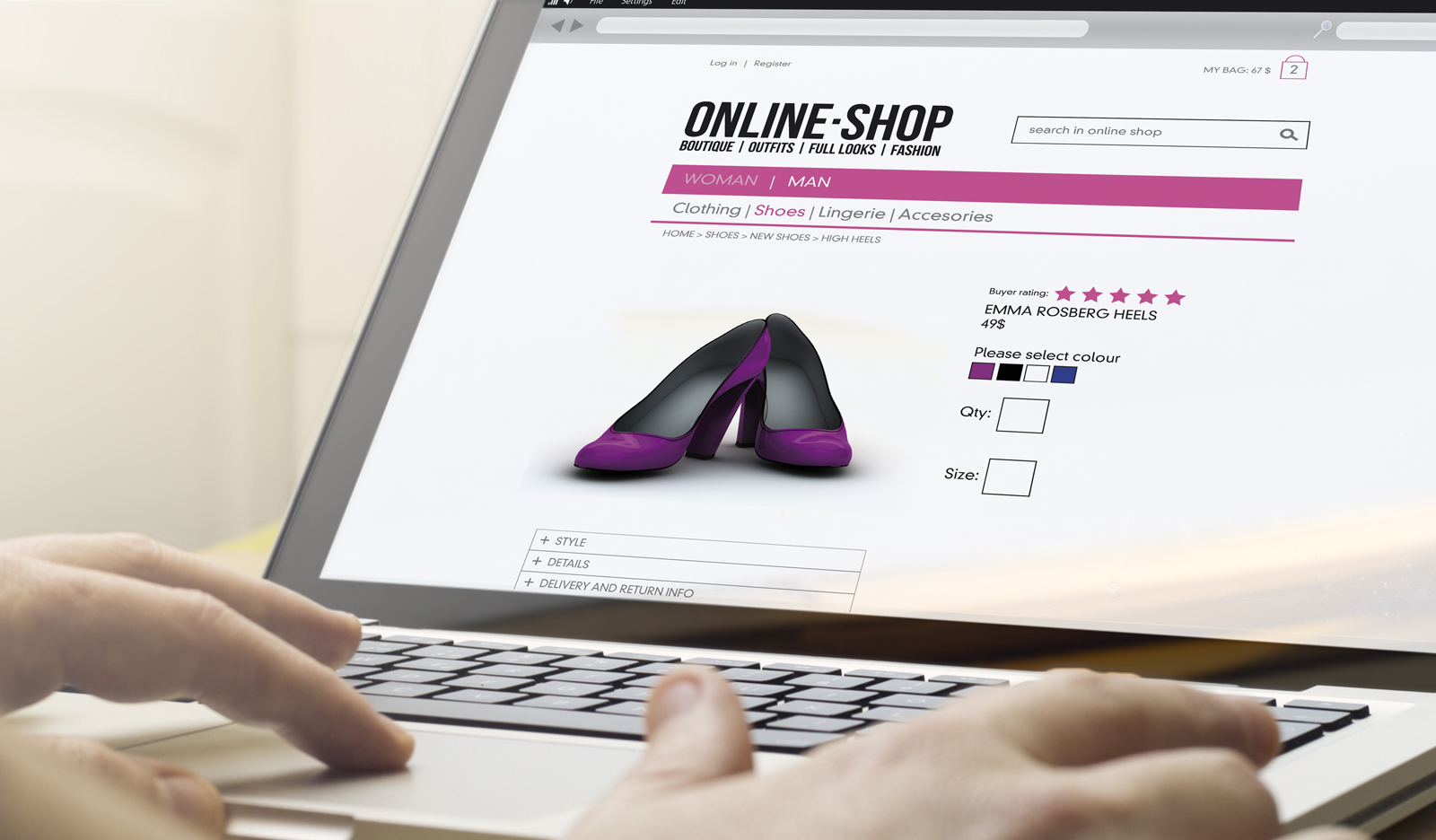 SERVICE QUALITY AND WEBSITE QUALITY IN  ONLINE SHOPPING: AN ANALOGY