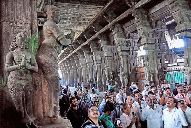 LEARNING ON ARTISTIC SIGNIFICANCE OF VASANTHA MANDAPA AT  VARAGUNAPANDEESWARAR TEMPLE – RADHAPURAM, TAMILNADU