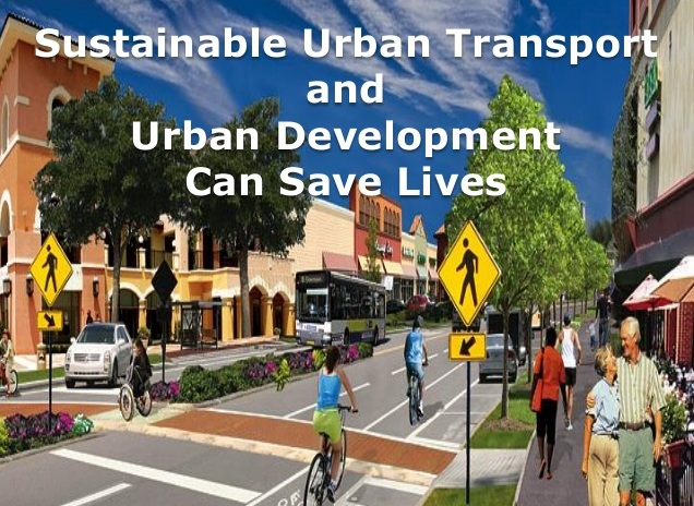 TREND IN TRANSPORTATION AND SUSTAINABLE  URBAN DEVELOPMENT
