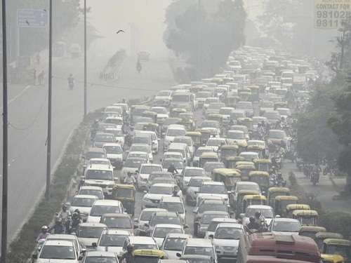 VEHICLES: MAJOR CONTRIBUTORY SOURCES OF GROWING AIR POLLUTION  IN SOLAPUR CITY