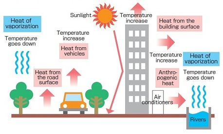 ENVIRONMENTAL ISSUES OF URBAN HEAT ISLAND:  A CASE STUDY OF RANCHI CITY